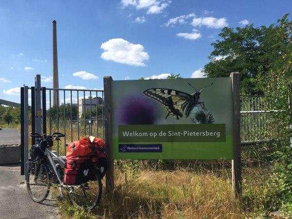 Fietsen over de St Pietersberg